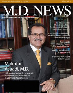 Dr. Asaadi Featured In MD News