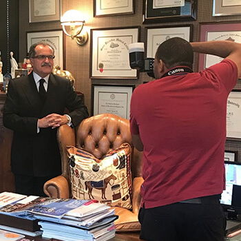 Behind The Scenes With Dr. Mokhtar Asaadi