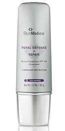 Total Defense + Repair Broad Spectrum Sunscreen SPF 34